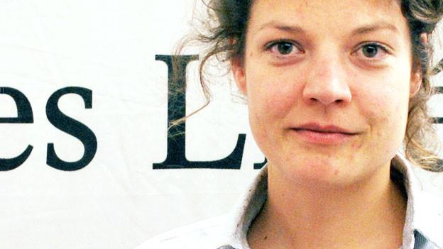 Die 30-jährige Reina Gehrig hat bereits mehrere Kulturfestivals organisiert.