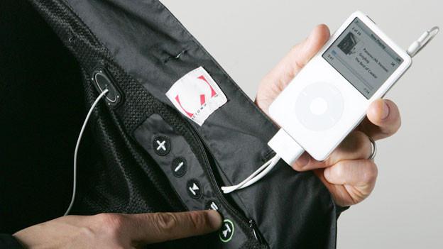 Der MP3-Player ist einer der ersten «Wearable Computer».