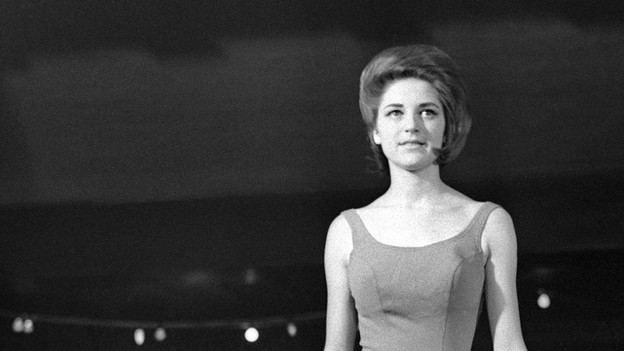 Eine Miss-Kandidation der 60er Jahre.