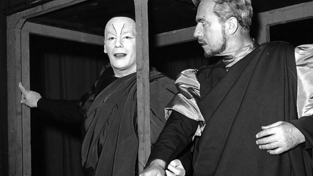 Gustaf Gründgens in seiner berühmtesten Rolle: «Mephisto»