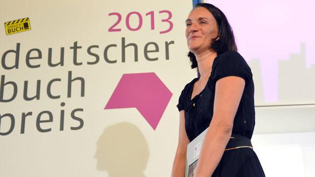 Die Gewinnerin des deutschen Buchpreises
