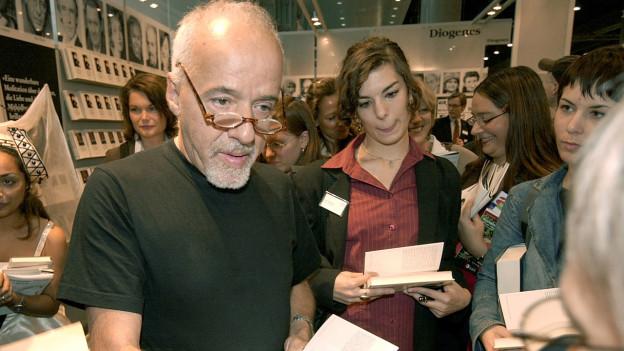Paulo Coelho: 2003 besuchte er die Buchmesse noch.
