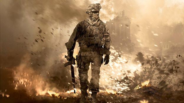 Die Serie «Call of Duty» (Bild von «CodD: Modern Warfare 2», 2009) ist eines der beliebtesten Ego-Shooter-Spiele.