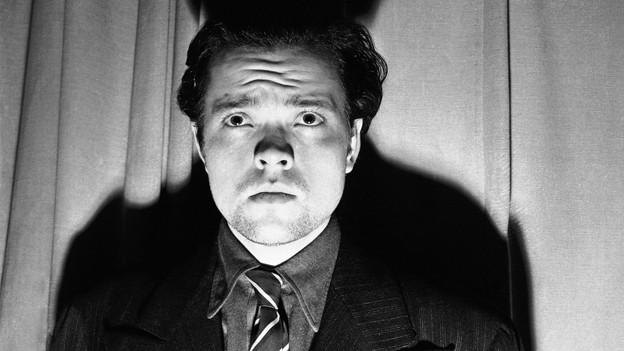 Orson Welles nach der Ausstrahlung von «War of the Worlds» 1938.