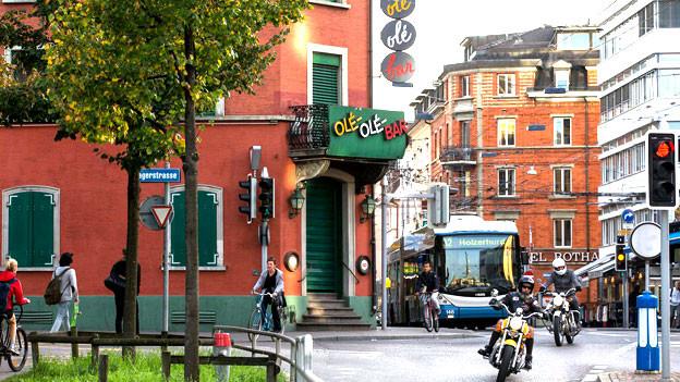 Ein berühmt-berüchtigter Ort: die Zürcher Langstrasse.