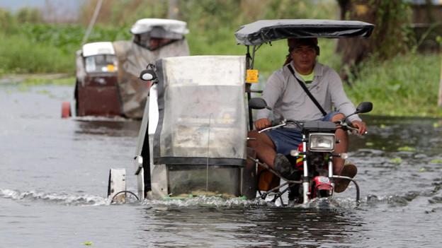 Auf den Taifun folgt das Hochwasser: Die Folgen der Naturkatastrophe auf den Philippinen sind verheerend.