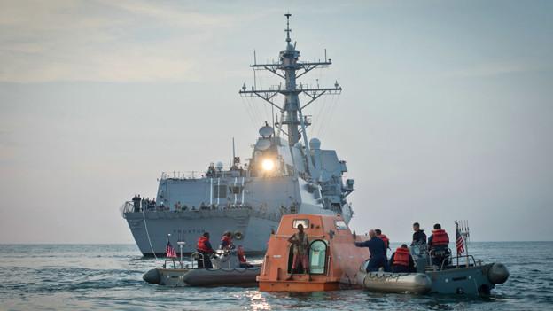 Das Schiff «Maersk Alabama» wird von somalischen Piraten gekapert.