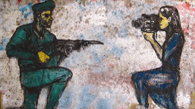 Ausschnitt aus dem Plakat des diesjährigen Frauen-Filmfestivals in Kairo.