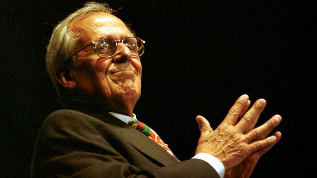 Er war der Inbegriff der politischen Satire in Deutschland: der Kabarett-Altmeister Dieter Hildebrandt.