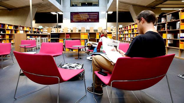 Haben Bibliotheken bald ausgedient?