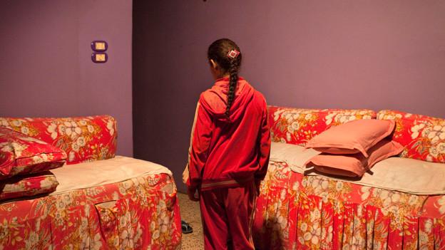 Im Helmhaus Zürich sind Fotos aus aller Welt ausgestellt. Hier ein Foto aus Kairo.