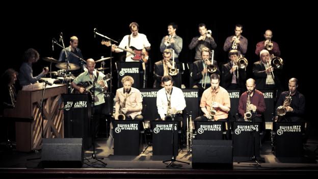 Das Swiss Jazz Orchstra.