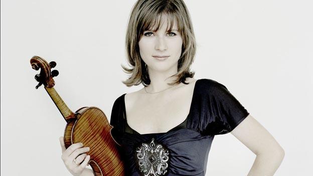 Sie brilliert mit ihrer Geige: Lisa Bariashvili.
