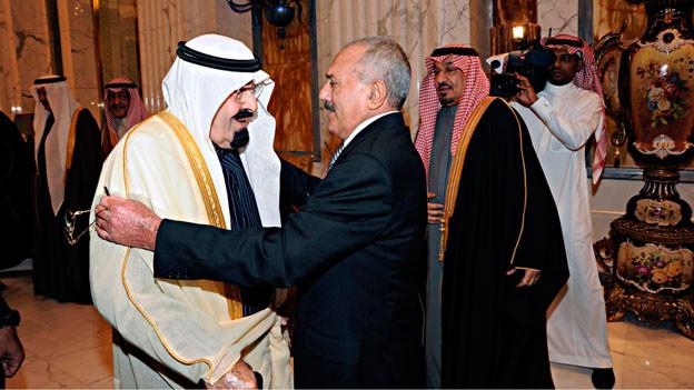 Der König Abdullah ibn Abd al-Aziz Al Saud gibt in seiner Monarchie immer noch den Ton an.