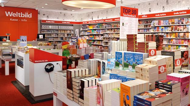 Das deutsche Verlagsunternehmen Weltbild hat Insolvenz beantragt