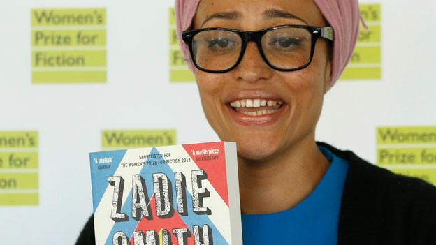 Zadie Smith mit ihrem neuen Buch «NW».