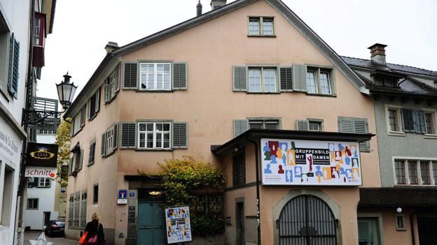 Das Literaturmuseum Strauhof in der Zürcher Altstadt.