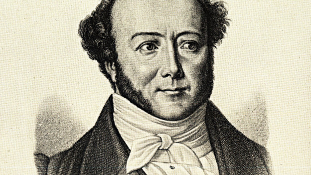 Ein Porträt des Pfarrers Albert Bitzius.