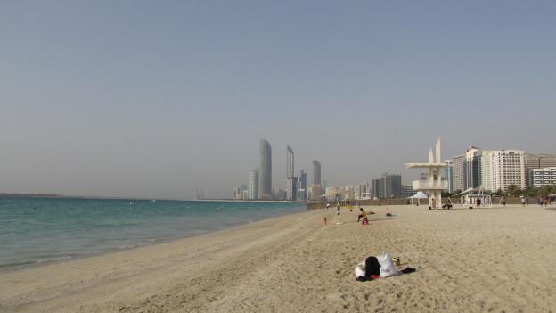 Strand in Abu Dhabi.