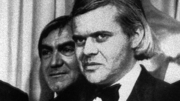 HR Giger 1980 an der Oscar-Verleihung.