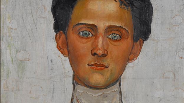 Ein Porträt von Berthe Hodler.