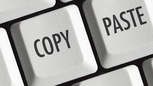 Copy-Paste-Tasten.