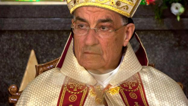 Der Papst sprichct sich gegen die Mafia aus.