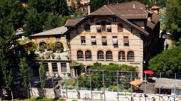 Die Dampfzentrale in Bern.