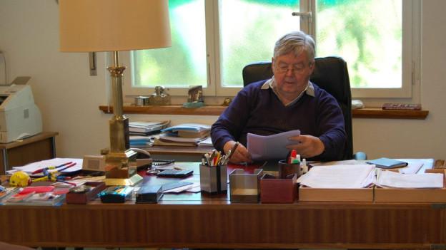 Jean-Pierre Bonny in seinem Büro