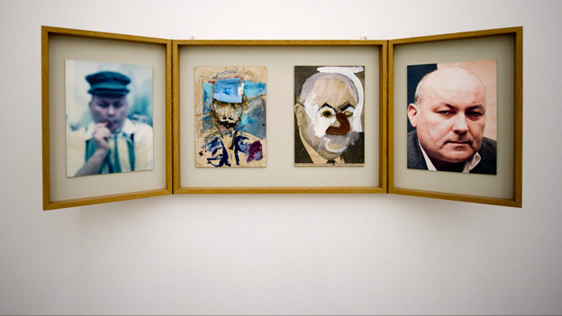 Arbeiten des Künstlers Dieter Roth.