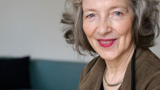 Porträt von Gertrud Leutenegger