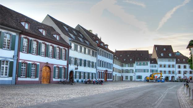 Der Münsterplatz in Basel.
