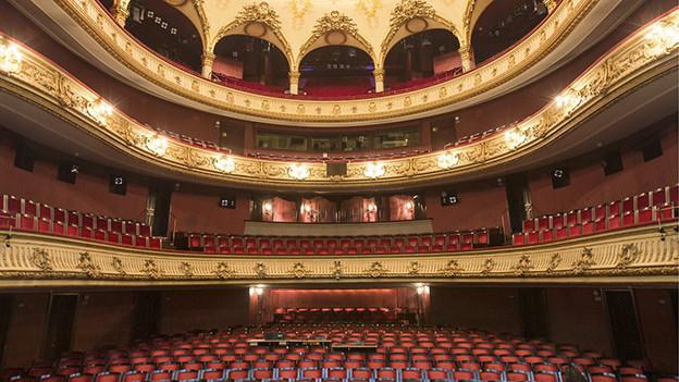 Saal im Theater Bern