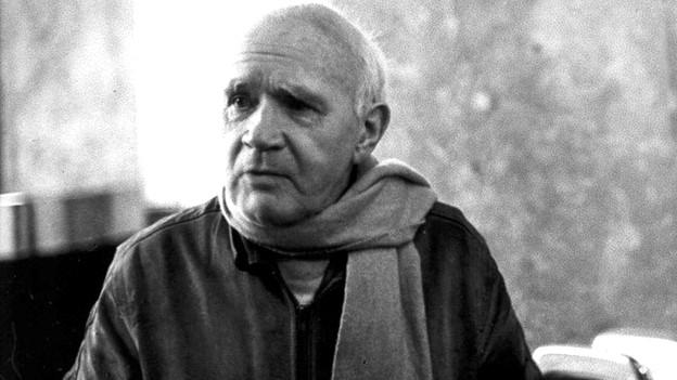 Jean Genet schwarz-weiss Aufnahme.