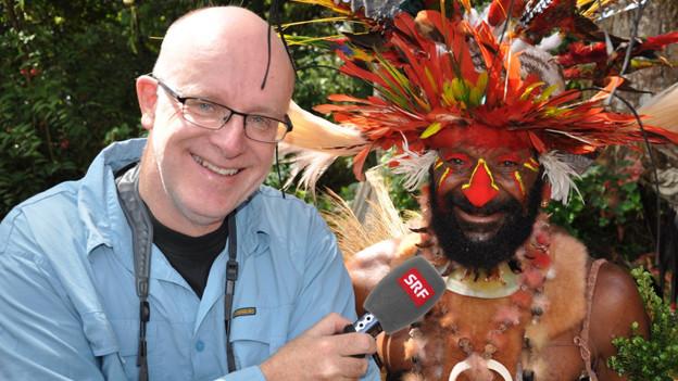 SRF Moderator in Papua Neuginea.