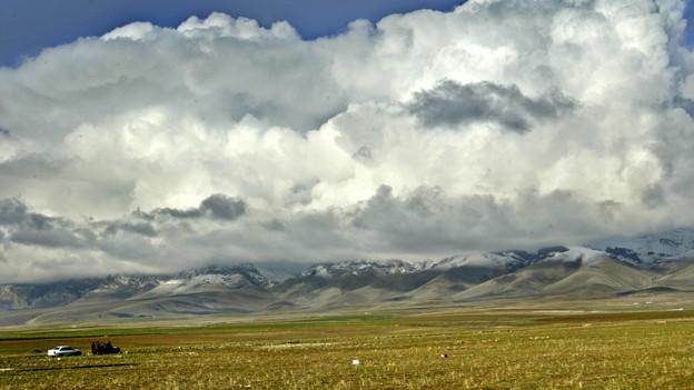 Eine karge Landschaft im Nordirak