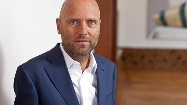 Portrait von Peter Haerle.