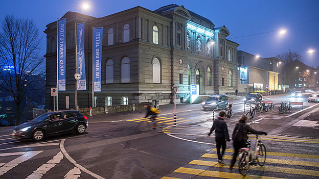 Fassade des Kunstmuseums Bern
