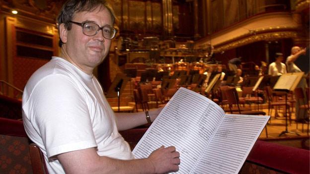 Dirigent Jean-Luc Darbellay während einer Probe.
