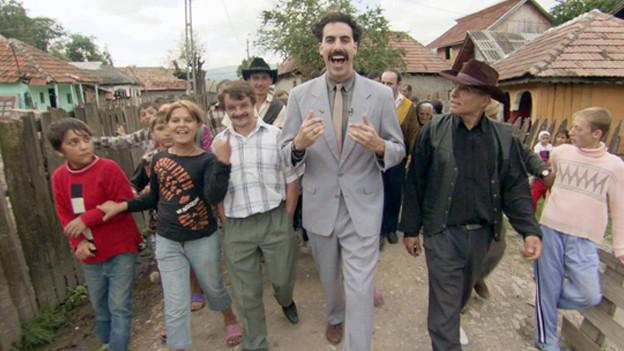 Sacha Baron Cohen als Borat.