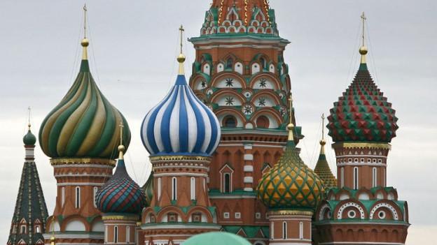 St. Basilius Kirche in Moskau