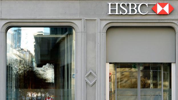 Glänzende Fassade: die HSBC-Filiale am Zürcher Paradeplatz.