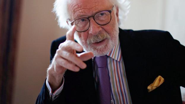 Porträtfoto von Fritz J. Raddatz