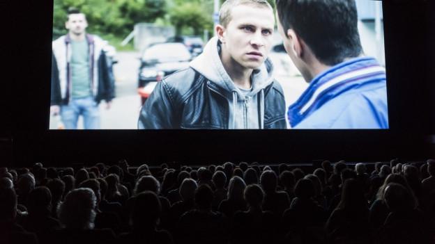 Ein Bild aus einem Kinosaal.