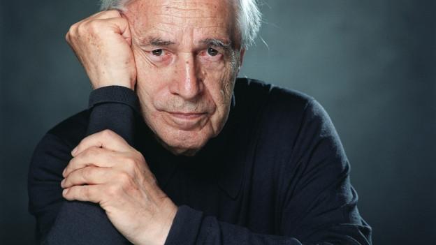 Porträt von Pierre Boulez.