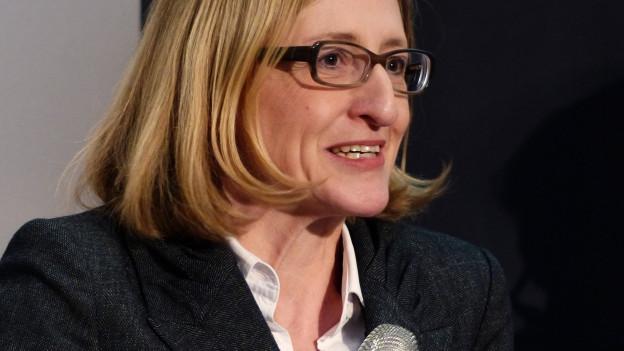 Porträt der Wirtschaftswissenschaftlerin Monika Bütler.