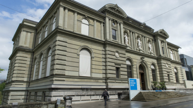 Blick auf das Kunstmuseum Bern.