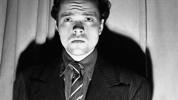 Porträt von George Orson Welles.