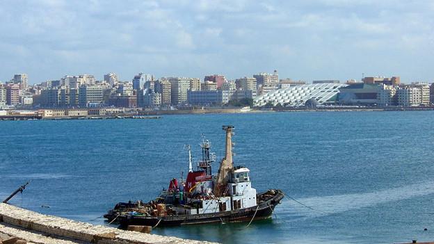 Der Hafen von Alexandria