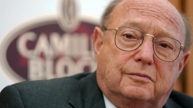 Porträt Rolf Bloch mit Brille